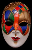 Volto Ibiz Full Face Venetian Mask