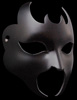 Diavolo Graz Flexible Black Leather Devil Mask