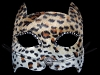 Gatto Leopard Venetian Cat Mask with Whiskers
