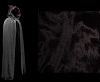 Black Cloak - Authentic Venetian Cloak for Masquerade Parties