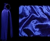 Blue Cloak - Authentic Venetian Hooded Cloak for Masquerade Parties