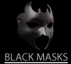 Black Venetian Masks
