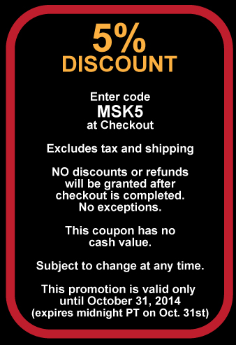 Venetian Mask Society coupon 5% Discount MSK5