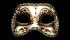 Colombina Commedia - Authentic Venetin Mask