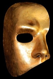 Fantasma dell'opera - Gold - Phantom of the Opera Italian Mask